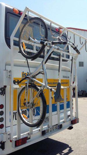 vélo et bus